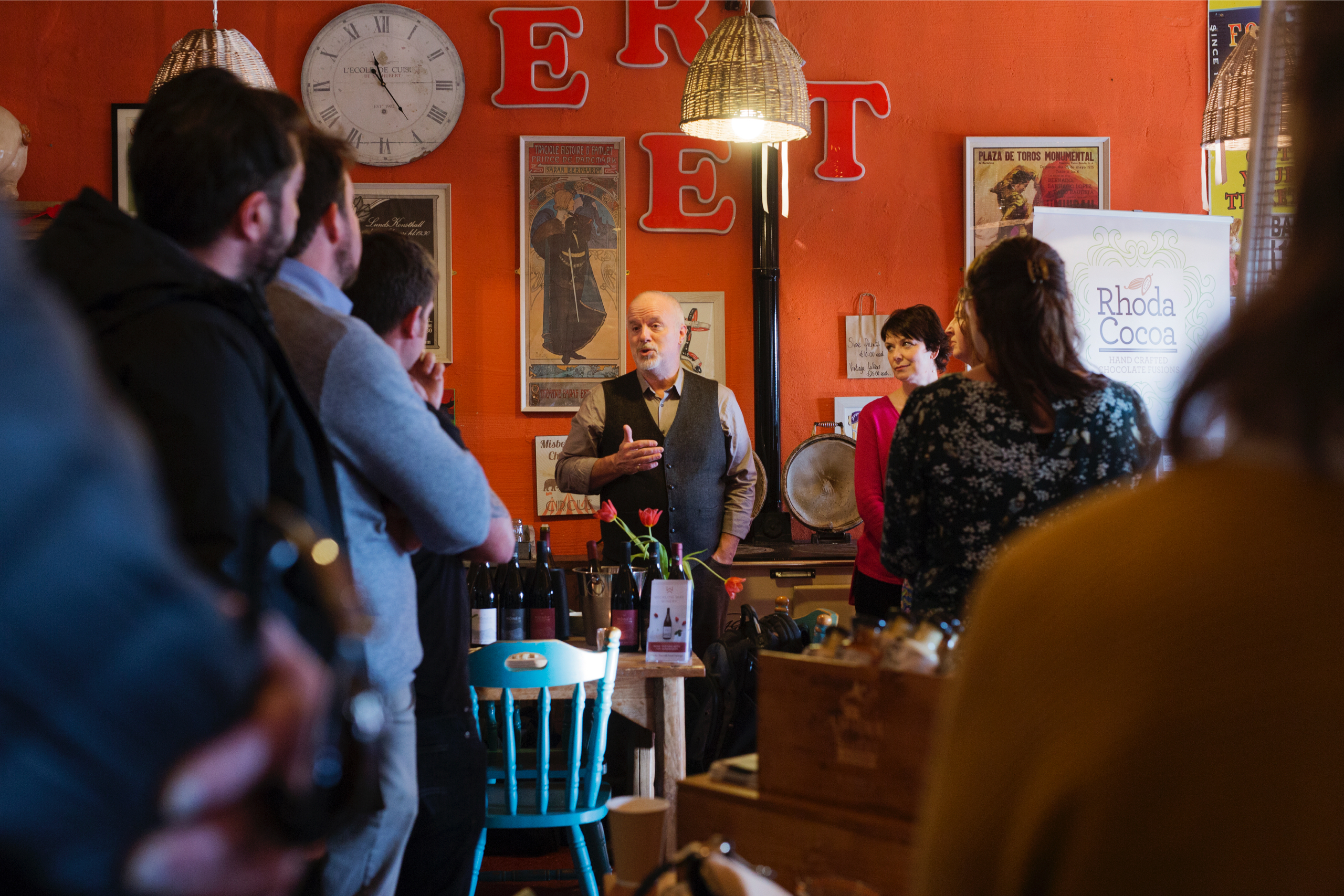 Wicklow food and drink producers - Wicklow Naturally preview at Tinahely Farm Shop