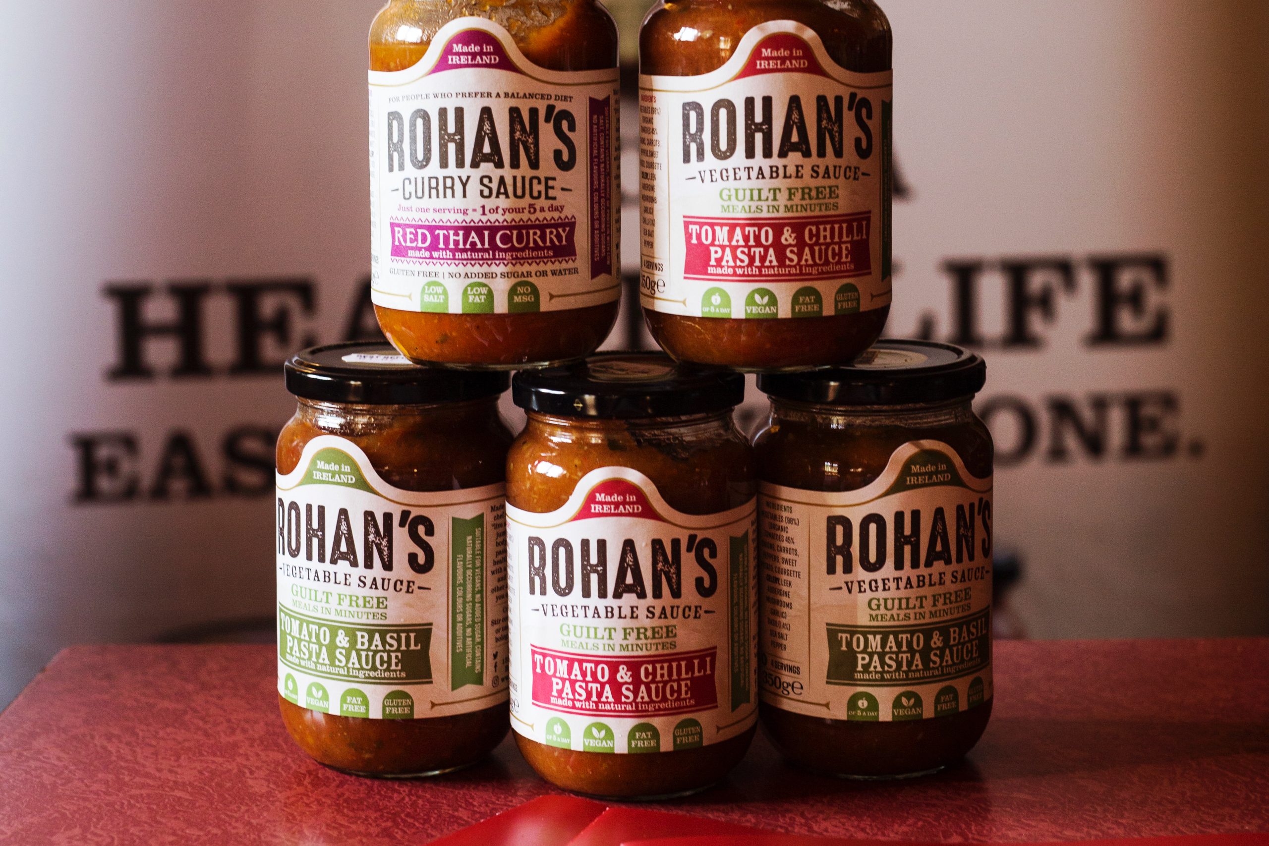 Rohans Sauces - Wicklow food producer