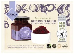 Janet's Country Fayre with award winning Beetroot Blush