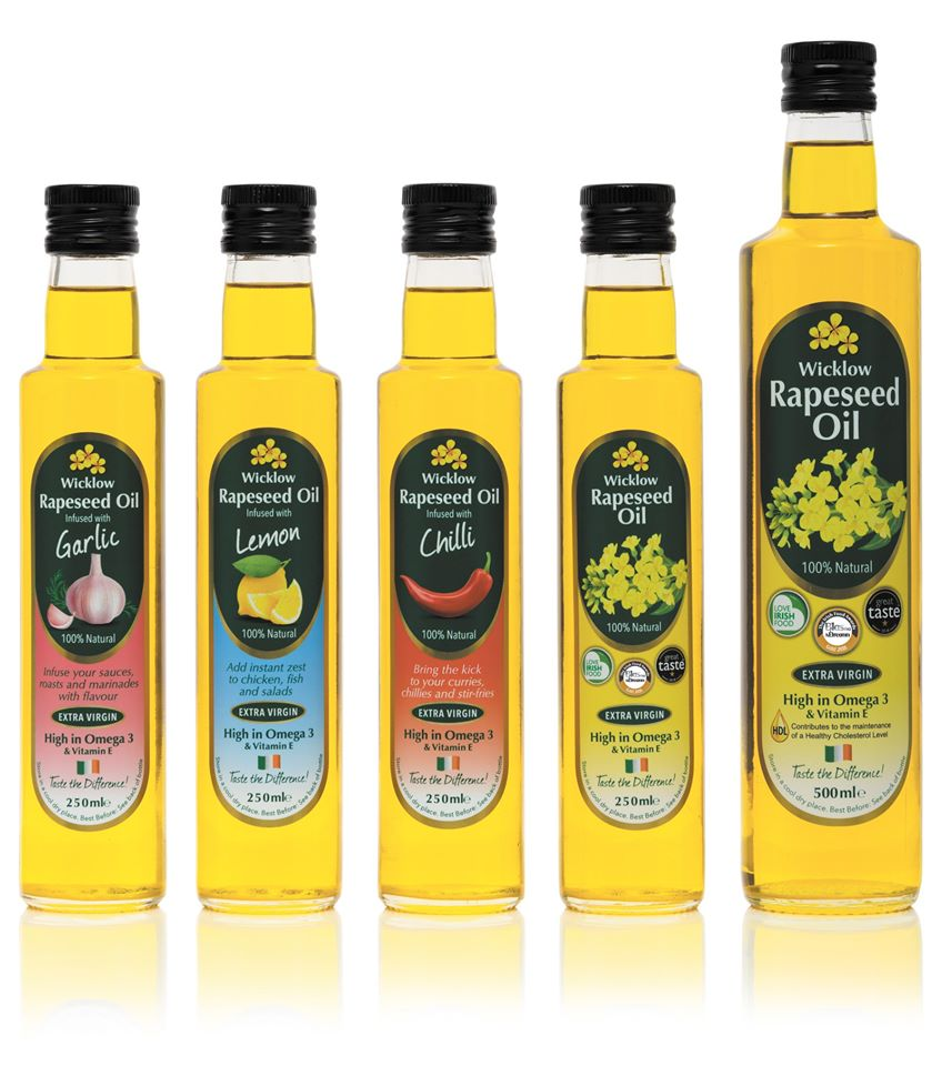 Wicklow Rapeseed Oil - A Wicklow Naturally Member - great produce from County Wicklow