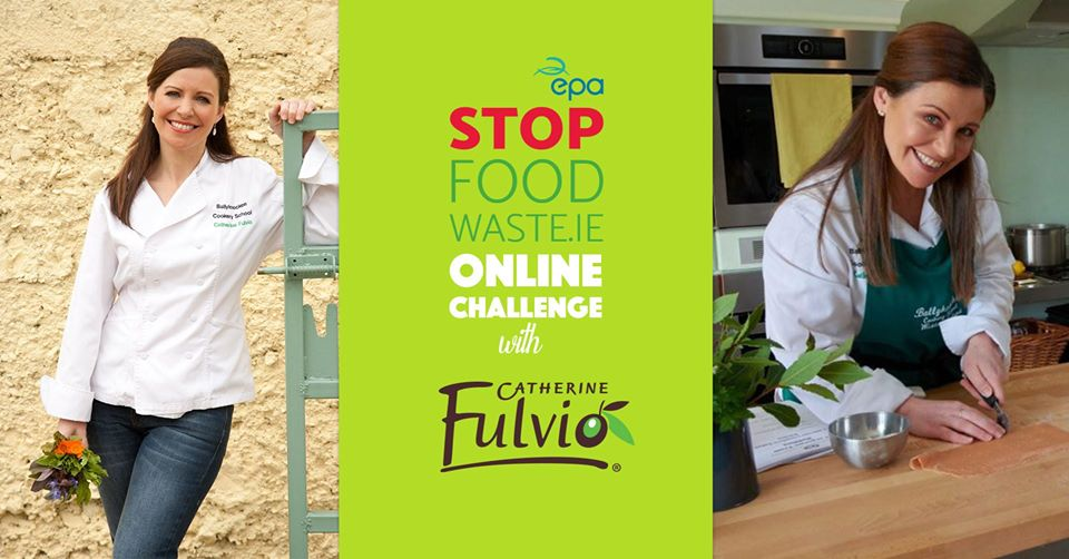 Stop Food Waste At Home with Catherine Fulvio