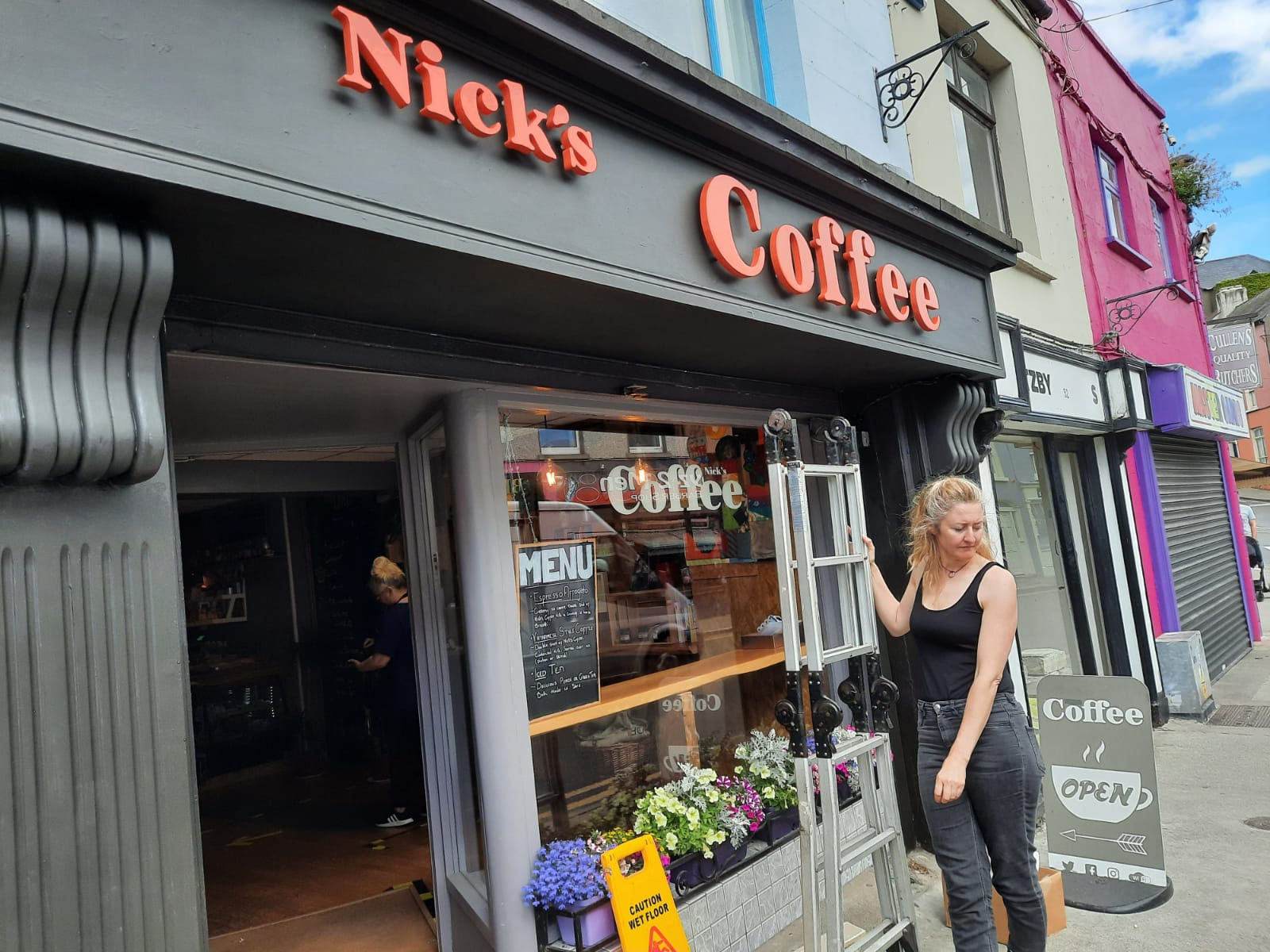 Nick's Coffee Shop will host Ballynerrin Eggs as part of Wicklow Naturally's October Feast IMG-20200924-WA0023