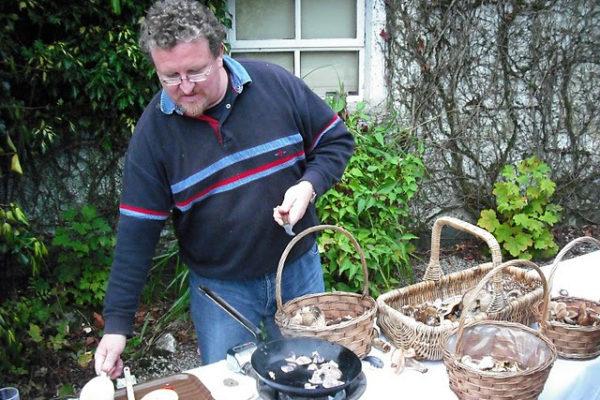 Mushroom Hunt with Bill O'Dea
