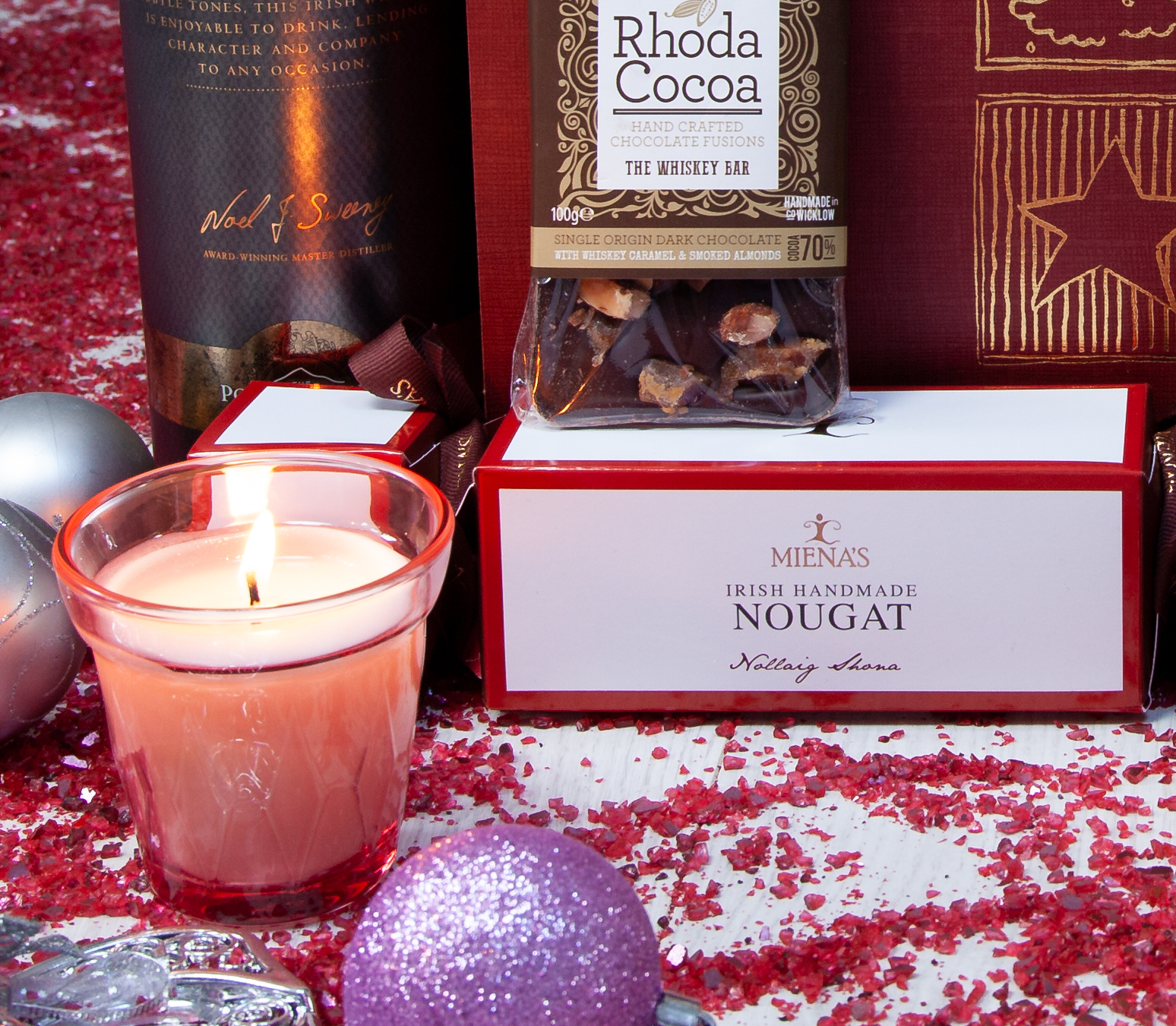 Wicklow Naturally Christmas Hampers with Bread & Berries
