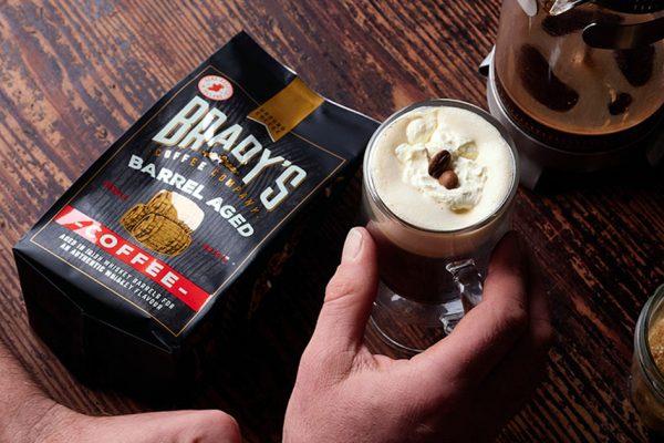 Brady's Barrel-Aged Coffee tasting